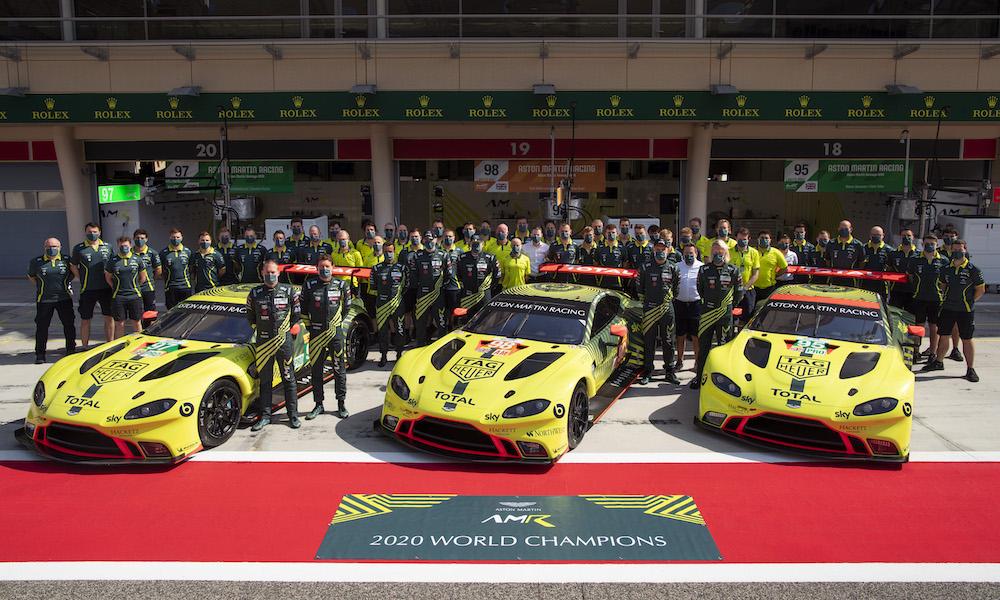 Aston Martin to end works Vantage sportscar team