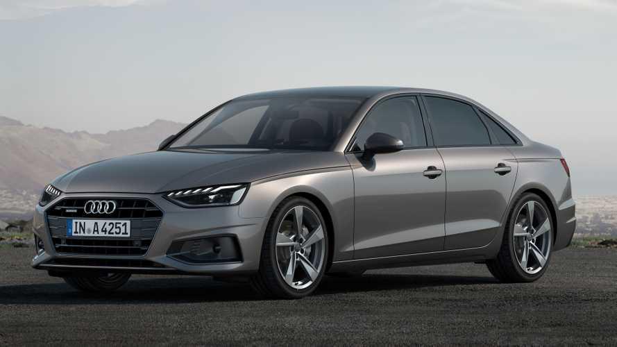 Audi A4 facelift open