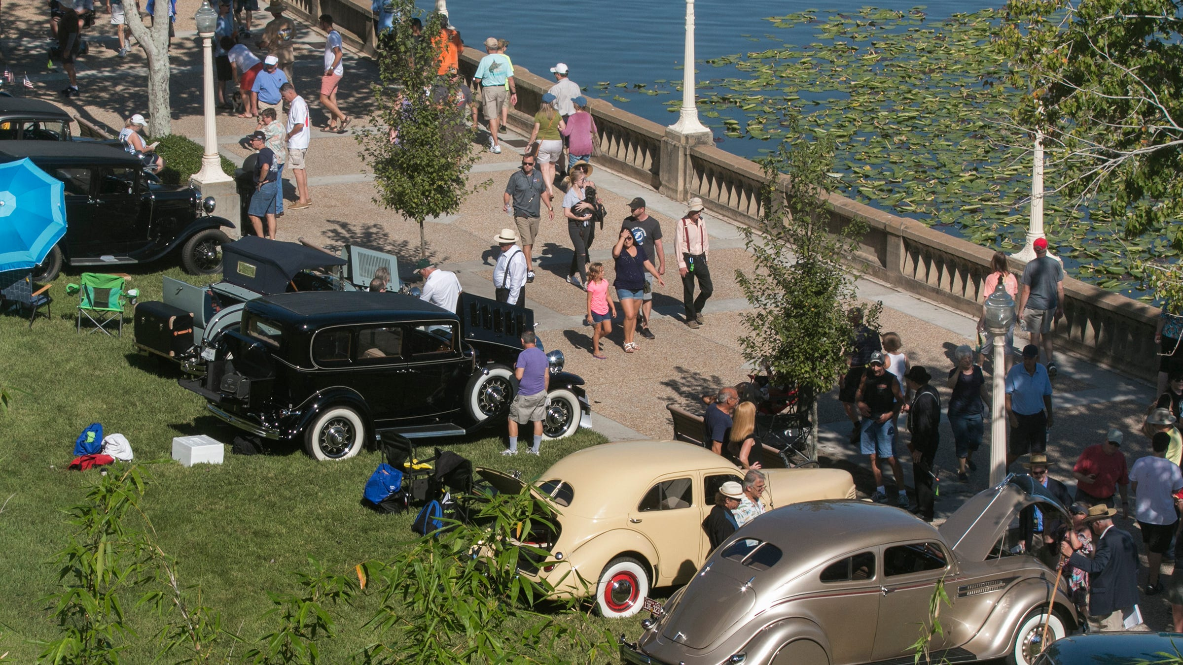 Is this the end of the Lake Mirror Classic Auto Festival