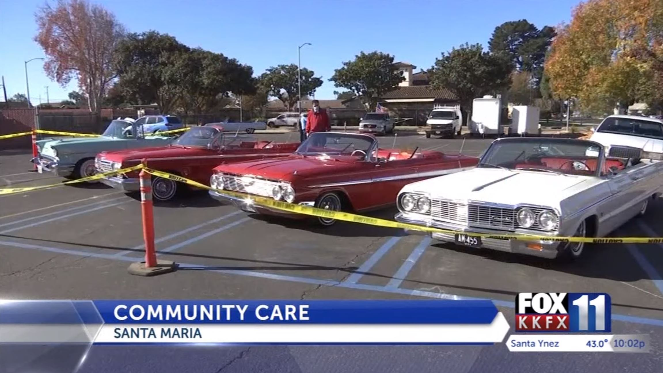 Santa Maria man holds classic car show, toy giveaway to help those in need