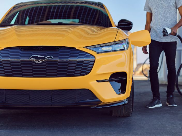 Tesla is slowly losing its electric-vehicle crown as Ford's Mustang Mach-E cuts into sales