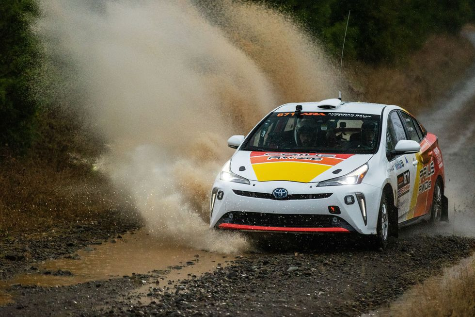 Toyota's Prius Rally Car Gets Down and Dirty